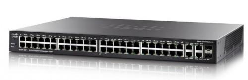 Switch Cisco Gigabit Ethernet SG350-52P, 52 Puertos 10/100/1000Mbps + 2 Puertos SFP, 104Gbit/s, 16.384 Entradas - Gestionado