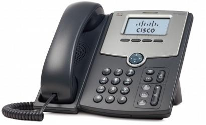 Cisco Teléfono IP de 1 Línea con Pantalla SPA502G, PoE y PC, 2x RJ-45, Negro - no incluye Fuente de Alimentación