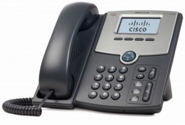 Cisco Teléfono IP de 1 Línea con Pantalla SPA512G, Gigabit Ethernet Switch de 2 Puertos, PoE, Negro/Plata