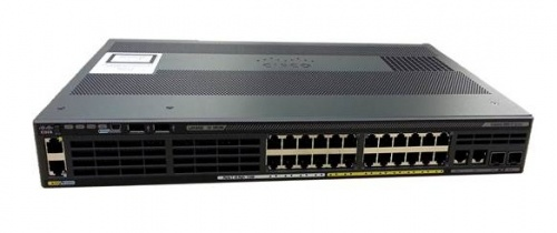 Switch Cisco Gigabit Ethernet Catalyst 2960-X, 24 Puertos 10/100/1000Mbps, 100 Gbit/s - Gestionado