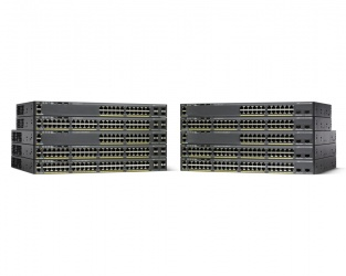 Switch Cisco Gigabit Ethernet Catalyst 2960-X, 48 Puertos 10/100/1000Mbps + 2 Puertos SFP+, 216 Gbit/s - Gestionado