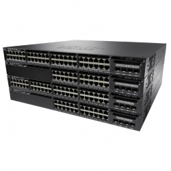 Switch Cisco Gigabit Ethernet Catalyst 3650 Data 4x1G Uplink IP Services, 24 Puertos 10/100/1000Mbps + 4 Puertos SFP, 88 Gbit/s, 32.000 Entradas - Gestionado