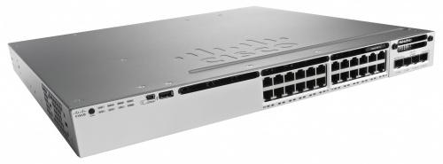 Switch Cisco Gigabit Ethernet Catalyst 3850 IP Base, 24 Puertos 10/100/1000, 88 Gbit/s, 32.000 Entradas - Gestionado