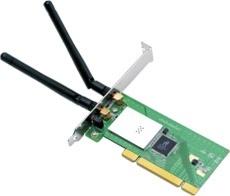 Cnet Tarjeta de Red PCI CWP-905, Inalámbrico, 300 Mbit/s, 2 Antenas Desmontables de 2dBi