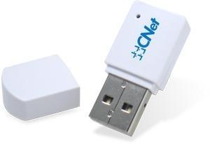 Cnet Mini Adaptador de Red USB WNUD1100, Inalámbrico, 150 Mbit/s