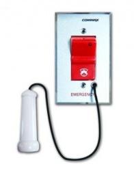 Commax Botón de Pánico para Enfermería ES410, Alámbrico, Gris/Rojo