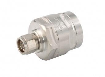 CommScope Conector Coaxial N-Type Macho, Plata