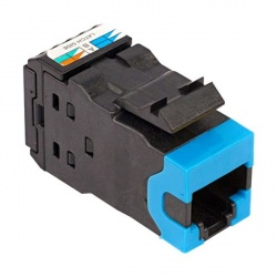 CommScope Jack de Red Cat6a, RJ-45, Azul