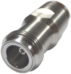 CommScope Conector Coaxial Clase N Hembra, Plata
