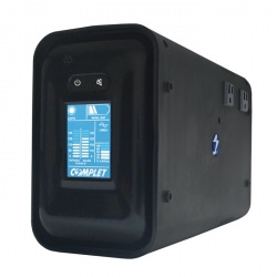 No Break Complet T1000 VA LCD, 500W, 1000VA, Entrada 90-145V, Salida 120V