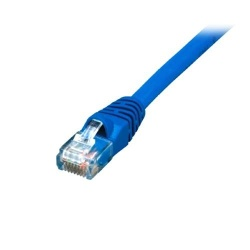 Comprehensive Cable Patch Cat6 sin Enganches RJ-45 Macho - RJ-45 Macho, 2.1 Metros, Azul, 25 Piezas