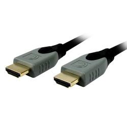 Comprehensive Cable HDMI de Alta Velocidad con Ethernet 4K HDMI Macho - HDMI Macho, 1.8 Metros, Negro