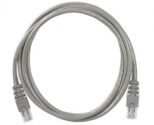 ConduNet Cable Patch Cat5e UTP RJ-45 Macho - RJ-45 Macho, 2 Metros, Gris