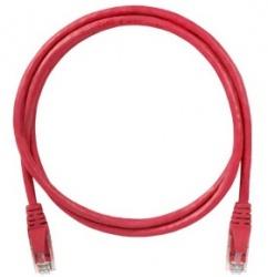 Condunet Cable Patch Cat5e UTP RJ-45 Macho - RJ-45 Macho, 2 Metros, Rojo