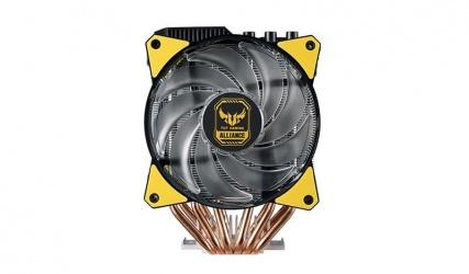 Ventilador Cooler Master MasterAir MA620P RGB, 120mm, 600 RPM - 1800 RPM, Negro/Amarillo