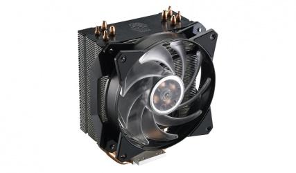 Disipador CPU Cooler Master MasterAir MA410P RGB, 120mm, 650-2000RPM, Negro