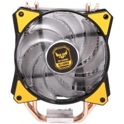 Disipador CPU Cooler Master MasterAir MA410P TUF Gaming Edition, 120mm, 650 - 2000RPM, Negro/Amarillo