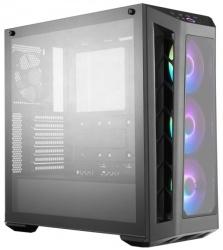 Gabinete Cooler Master MasterBox MB530P con Ventana RGB, Midi-Tower, ATX/Micro-ATX/Mini-ITX, USB 3.1, sin Fuente, Negro