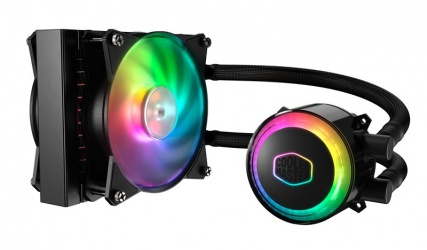 Cooler Master MasterLiquid ML120R RGB Enfriamiento Liquido para CPU, 1x 120mm, 650 - 2000RPM