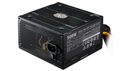 Fuente de Poder Cooler Master Elite V3 80 PLUS, 20+4 pin ATX, 120mm, 500W
