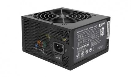 Fuente de Poder Cooler Master MasterWatt Lite 500 80 PLUS, 20+4 pin ATX, 120mm, 500W