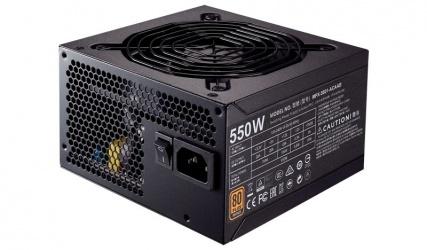 Fuente de Poder Cooler Master MWE 550 80 PLUS Bronze, 20+4 pin ATX, 120mm, 550W
