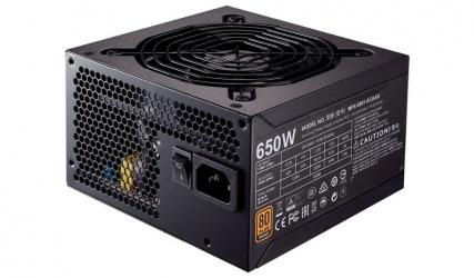 Fuente de Poder Cooler Master MWE 650 80 PLUS Bronze, 20+4 pin ATX, 120mm, 650W