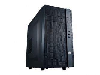 Gabinete Cooler Master N200, Mini-Tower, micro-ATX/mini-iTX, USB 2.0/3.0, sin Fuente, Negro