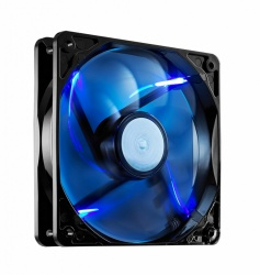 Ventilador Cooler Master SickleFlow 120 LED Azul, 120mm, 2000RPM, Negro/Azul