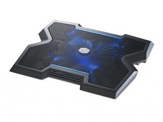 Cooler Master NotePal X3 para Laptops hasta 17'', con Ventilador de 850RPM, Negro