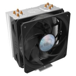Ventilador Cooler Master Hyper 212 EVO V2, 120mm, 650-1800RPM, Negro/Plata