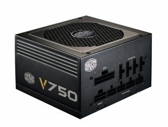 Fuente de Poder Cooler Master V750 80 Plus Gold, 20+4 pin ATX, 120mm, 750W