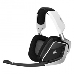 Corsair Audífonos Gamer VOID PRO RGB 7.1, Inalámbrico, USB, Negro/Blanco