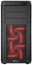 Gabinete Corsair Graphite 230T con Ventana, Midi-Tower, ATX, USB 3.0, sin Fuente, Negro