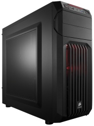 Gabinete Corsair Carbide SPEC-01 LED Rojo, Midi-Tower, ATX/micro-ATX/mini-iTX, USB 2.0/3.0, sin Fuente, Negro