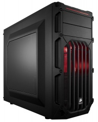 Gabinete Corsair Carbide SPEC-03 LED Rojo, Midi-Tower, ATX/micro-ATX/mini-iTX, USB 3.0, sin Fuente, Negro