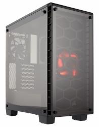 Gabinete Corsair Crystal Series 460X con Ventana, Midi-Tower, ATX/Micro-ATX/Mini-ITX, USB 3.0, sin Fuente, Negro