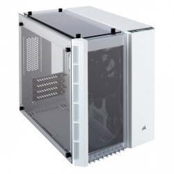Gabinete Corsair Crystal 280X con Ventana, Micro-Tower, ATX, USB 2.0, sin Fuente, Blanco