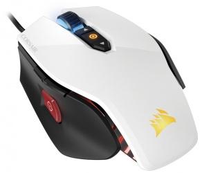Mouse Gamer Corsair Óptico M65 PRO RGB, Alámbrico, USB, 12000DPI, Blanco