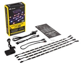 Corsair Kit Lighting Node PRO, LED RGB, 4 Tiras, 41cm