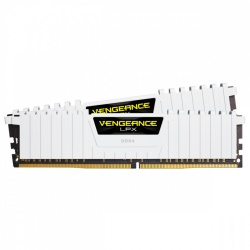 Kit Memoria RAM Corsair Vengeance LPX White DDR4, 3000MHz, 16GB (2 x 8GB), Non-ECC, CL16