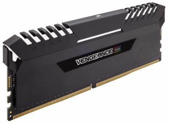 Kit Memoria RAM Corsair Vengeance RGB DDR4, 2666MHz, 64GB (4 x 16GB), CL16, XMP
