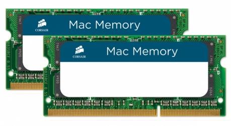 Kit Memoria RAM Corsair DDR3, 1066MHz, 8GB (2 x 4GB), CL7, SO-DIMM, para Mac