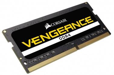 Memoria RAM Corsair Vengeance DDR4, 2400MHz, 8GB, Non-ECC, CL16, SO-DIMM