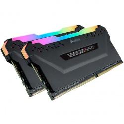 Kit Memoria RAM Corsair Vengance RGB PRO DDR4, 3200MHz, 16GB (2x 8GB), CL16, XMP, 1.35V
