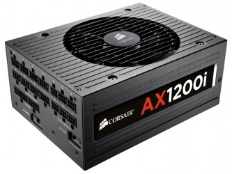 Fuente de Poder Corsair AX1200i 80 Plus Platinum, 20+4 pin ATX, 1200W