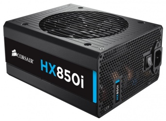 Fuente de Poder Corsair HX850i 80 PLUS Platinum, 20+4 pin ATX, 140mm, 850W
