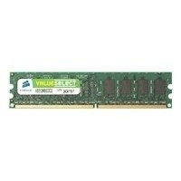 Memoria RAM Corsair DDR2, 667MHz, 2GB, CL5