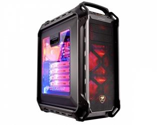 Gabinete Cougar Panzer MAX con Ventana, Full-Tower, ATX/CEB/EATX/Micro-ATX/Mini-ITX, USB 3.0/2.0, sin Fuente, Negro