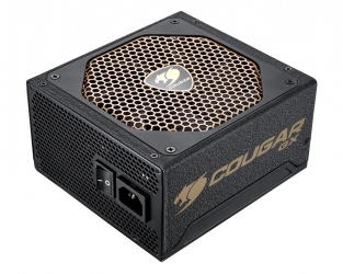 Fuente de Poder Cougar GX800 80 PLUS Gold, 20+4 pin ATX, 140mm, 800W
